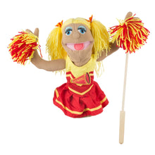Load image into Gallery viewer, Cheerleader Puppet
