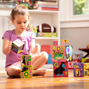 Alphabet Nesting and Stacking Blocks