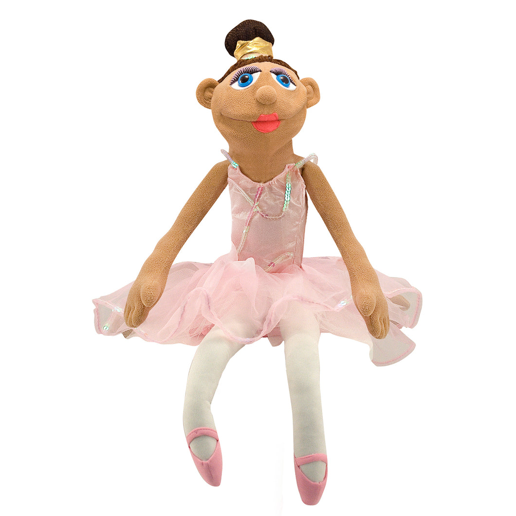 Ballerina Puppet (Full-Body)