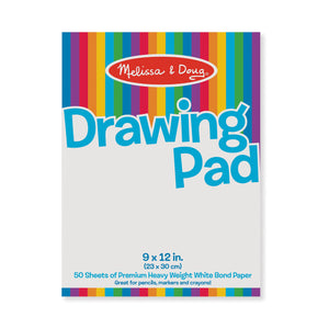 "Drawing Paper Pad - 9""x12"""