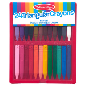 Triangular Crayon Set - 24pc