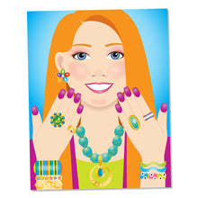 Load image into Gallery viewer, Jewelry & Nails Glitter Collection Sticker Pad