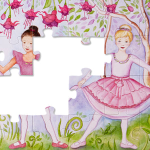 Bella Ballerina Floor Puzzle - 48pc