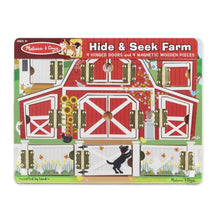 Load image into Gallery viewer, Magnetic Farm Hide & Seek Board