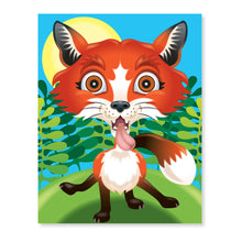 Load image into Gallery viewer, Make-a-Face Sticker Pad - Crazy Animals