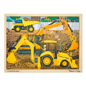 Construction Jigsaw Puzzle - 24pc