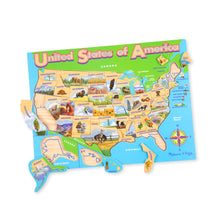 Load image into Gallery viewer, USA Map Jigsaw Puzzle