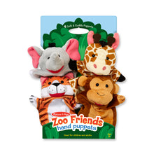 Load image into Gallery viewer, Zoo Friends Hand Puppets