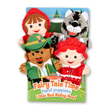 Load image into Gallery viewer, Fairy Tale Time Hand Puppets - Little Red Riding Hood
