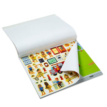 Load image into Gallery viewer, Reusable Sticker Pad - My Town