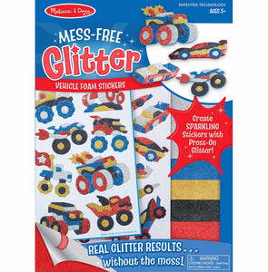 Mess-Free Glitter - Vehicle Foam Stickers