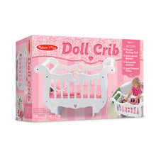 Load image into Gallery viewer, Wooden Doll Crib