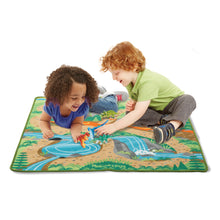 Load image into Gallery viewer, Prehistoric Playground Dinosaur Rug
