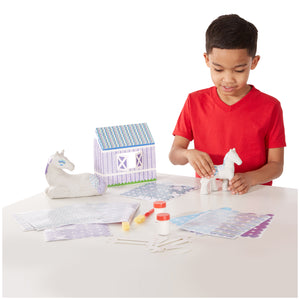 Decoupage Made Easy Deluxe Craft Set - Horse & Pony