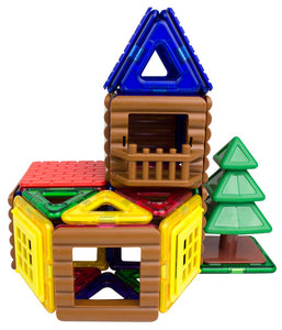Magformers Log Cabin 48pc