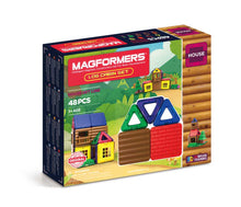 Load image into Gallery viewer, Magformers Log Cabin 48pc