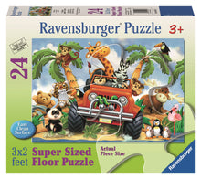Load image into Gallery viewer, 4-Wheeling - 24pc Floor Puzzle