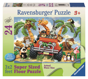4-Wheeling - 24pc Floor Puzzle