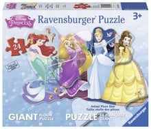 Load image into Gallery viewer, Pretty Princesses - 24pc Shaped Floor Puzzle
