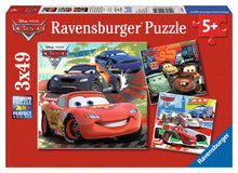 Load image into Gallery viewer, Worldwide Racing Fun - 3 x 49pc Puzzles