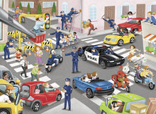 Load image into Gallery viewer, Police on Patrol - 100pc Puzzle