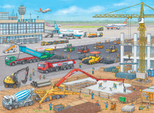 Load image into Gallery viewer, Construction at the Airport - 100pc Puzzle