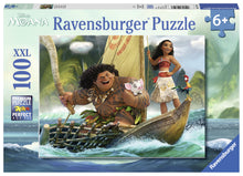 Load image into Gallery viewer, Moana and Maui - 100 pc Puzzle