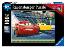 Load image into Gallery viewer, Cars 3 - 100pc Puzzle