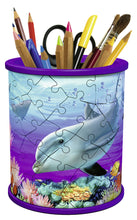 Load image into Gallery viewer, Pencil Holder 54pc 3D Puzzle - Underwater