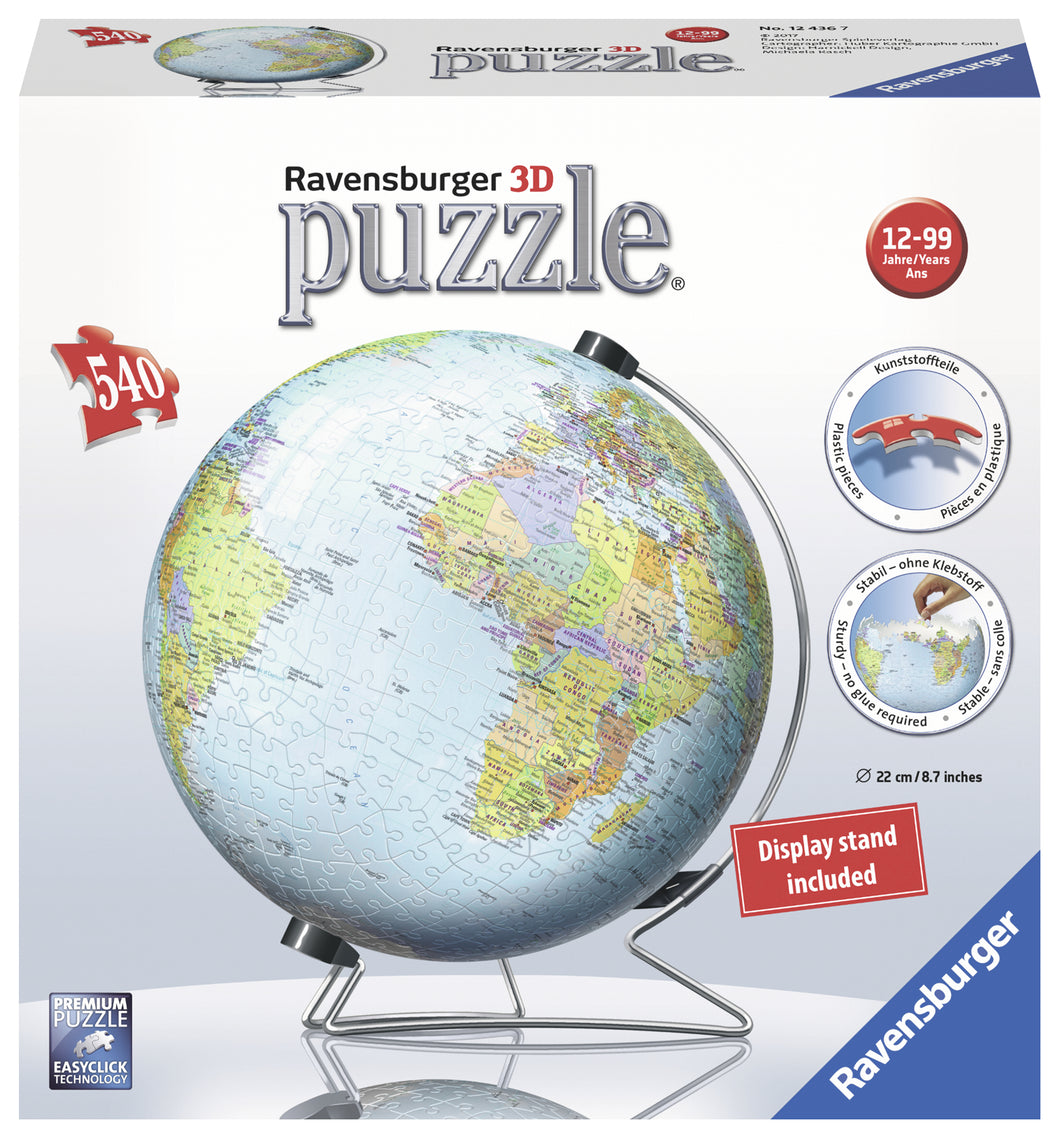 The Earth - 540pc 3D Puzzle