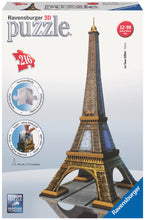 Load image into Gallery viewer, Eiffel Tower - 216pc 3D Puzzle