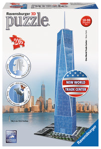 One World Trade Center NY - 216pc 3D Puzzle