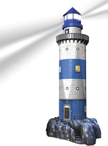 Lighthouse - Night Edition - 216pc 3D Puzzle