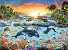 Load image into Gallery viewer, Orca Paradise - 200pc Puzzle