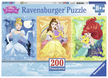 Load image into Gallery viewer, Beautiful Disney Princesses - 200pc Panorama Puzzle
