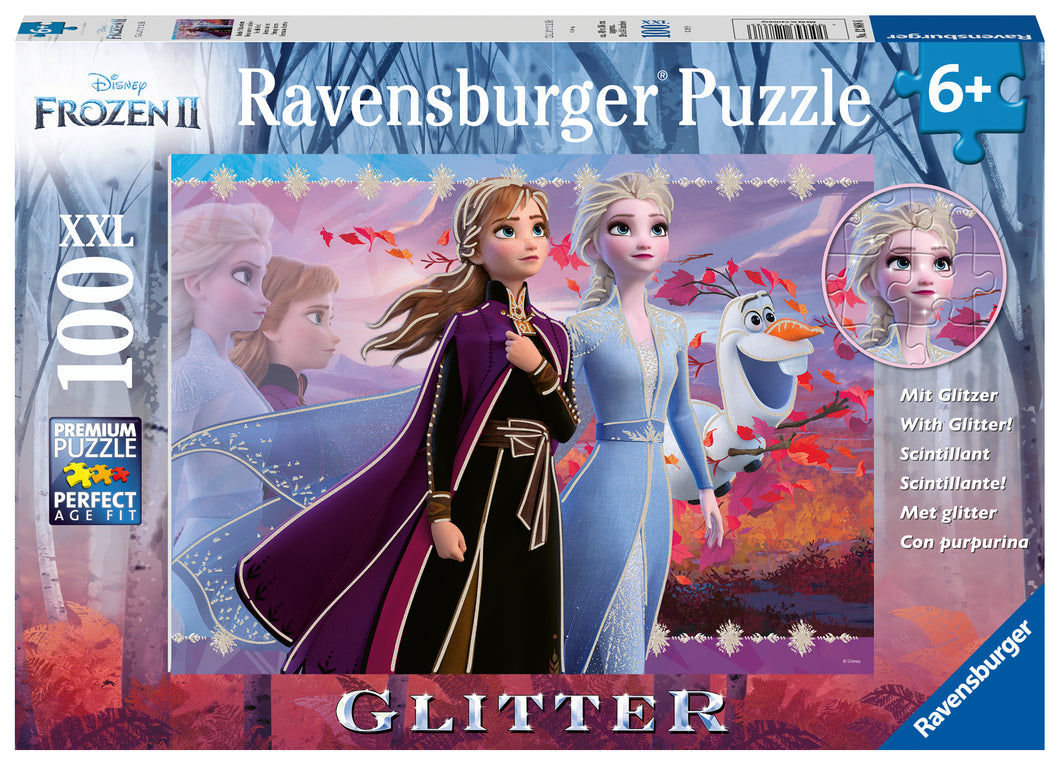 Strong Sisters - 100pc Glitter Puzzle