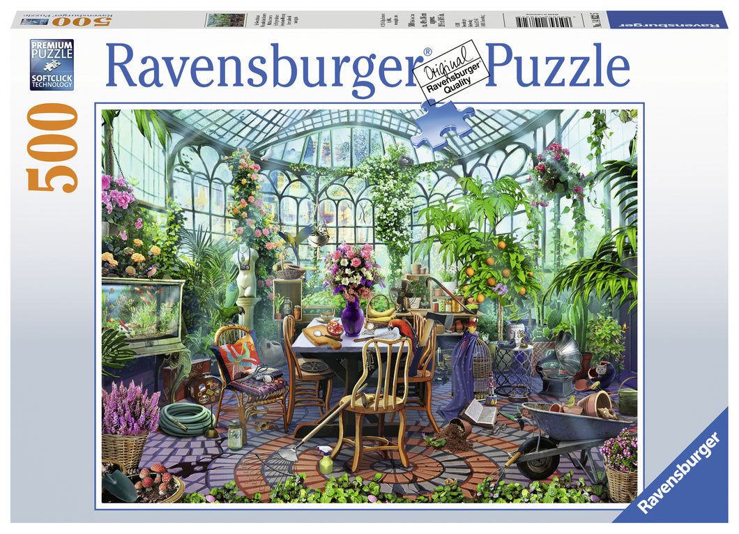 Greenhouse Morning - 500pc Puzzle
