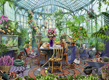 Load image into Gallery viewer, Greenhouse Morning - 500pc Puzzle
