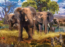 Load image into Gallery viewer, Elephants - 500pc Puzzle