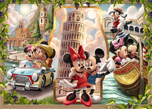 Vacation Mickey & Minnie - 1000pc Puzzle