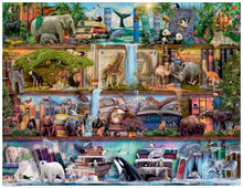Load image into Gallery viewer, Wild Kingdom Shelves  - 2000pc Puzzle