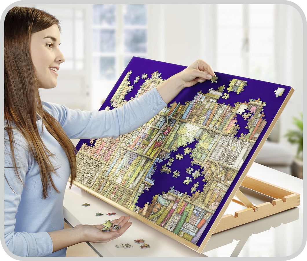 Ravensburger - Wooden Puzzle Board / Wooden Puzzle Easel