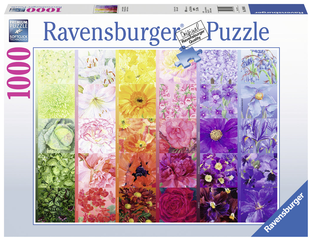 The Gardener's Palette No. 1 - 1000pc Puzzle
