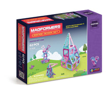 Load image into Gallery viewer, Magformers Inspire Design 62pc Set