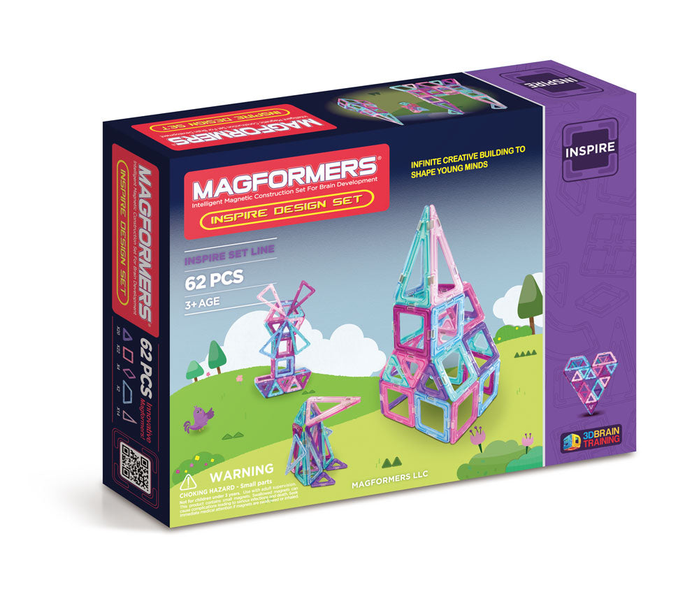 Magformers Inspire Design 62pc Set