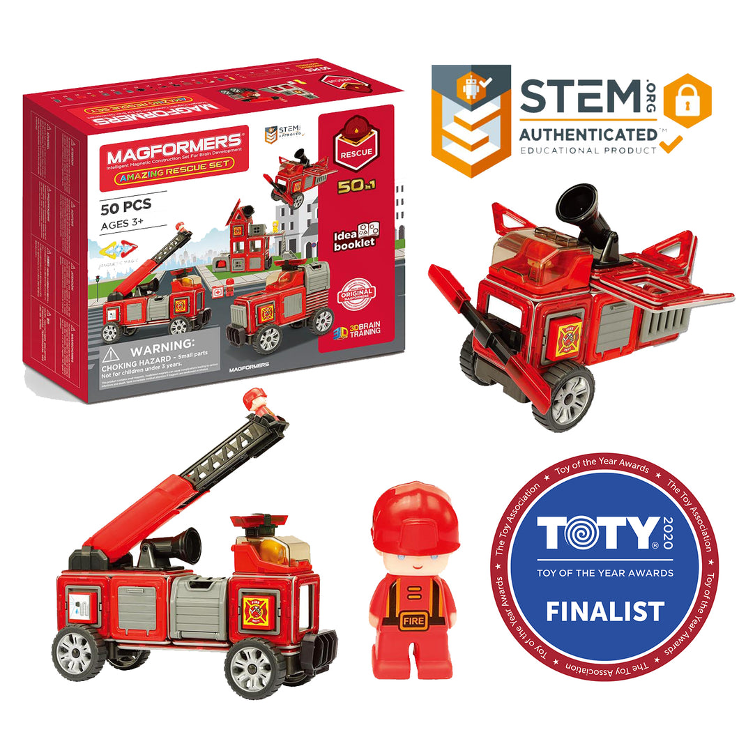 Magformers Amazing Rescue 50Pc Set