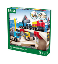 Load image into Gallery viewer, BRIO Rail & Road Loading Set