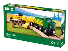 Load image into Gallery viewer, BRIO Farm Train