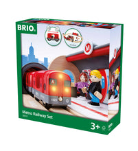 Load image into Gallery viewer, BRIO Metro Railway Set