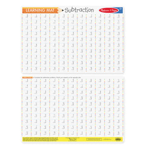 Subtraction Problems Write-a-Mat